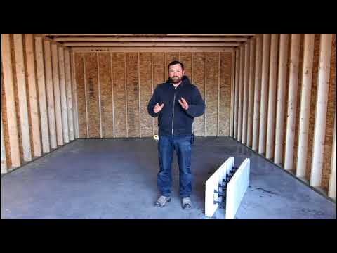 ICF vs Wood : How a Spray Foam 2x6 Stud Wall Compares to an ICF Wall
