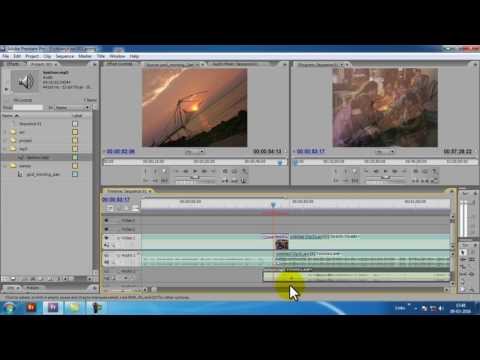 how to edit your wedding video in premiere pro cs3