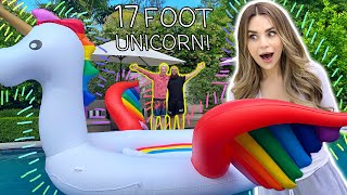 Surprising My Girlfriend With A HUGE Unicorn!