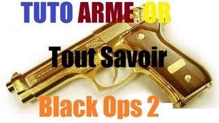 Tuto Black Ops 2 Comment Avoir Une Arme En OR + Les Emblème Sur l'arme Tout Savoir HD