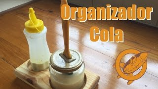 Marcenaria Criativa - Como fazer um organizador para colas