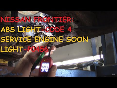 Nissan Frontier: ABS Light / Service Engine Soon Light