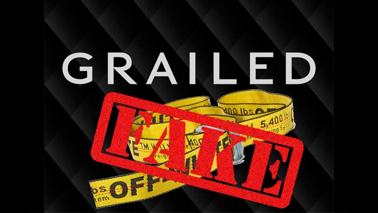 disponibilità nel Regno Unito a047b 14bcd Grailed Failed - Off-White Industrial Belt Legit Check