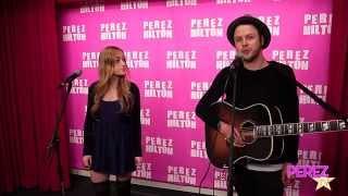 oh-honey---be-okay-acoustic-perez-hilton-performance