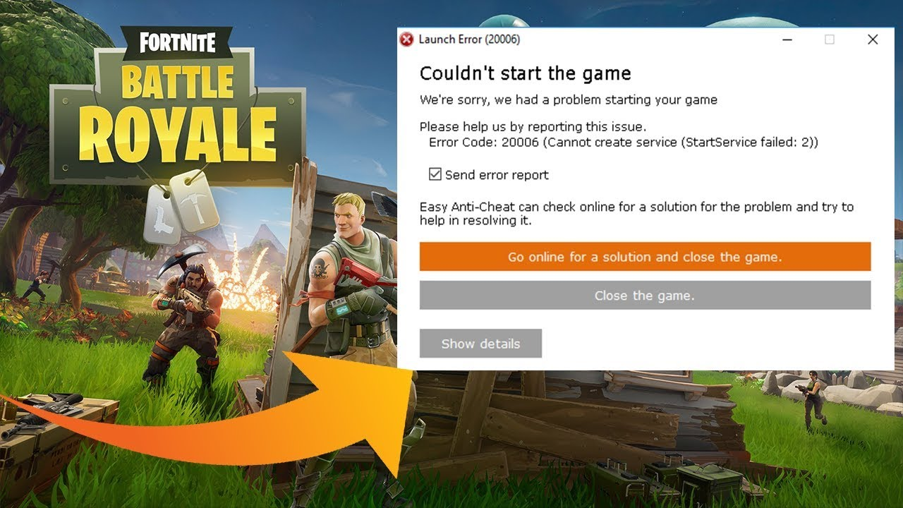 fortnite easyanticheat not installed