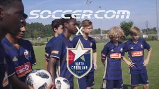 FIFA World Cup™Skills with NCFC Youth: Mastering Cristiano Ronaldo's free kick technique