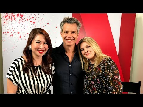 Who does Drew Barrymore want to kill? Plus Timothy Olyphant's life lesson on keeping your cool