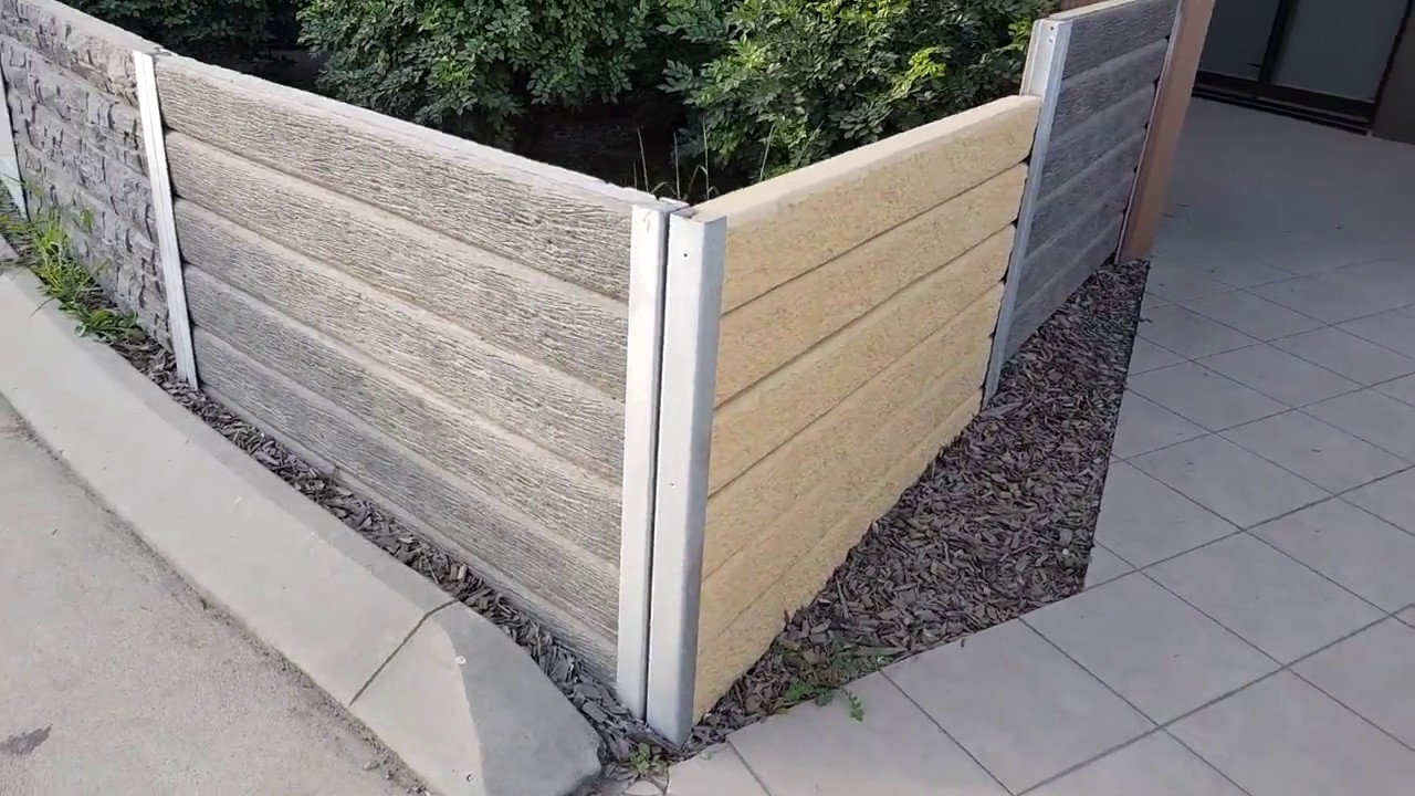 The Ridgi Retaining Wall Range Of Concrete Sleepers