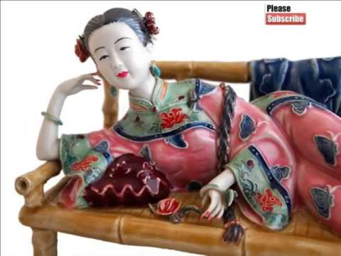 Ancient Chinese Porcelain Dolls | Decorative Picture Set Of Rare & Beautiful Arts