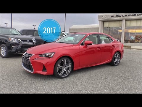 2017 Lexus IS200t In Depth Review of ALL Interior & Exterior Features Video Owners Manual