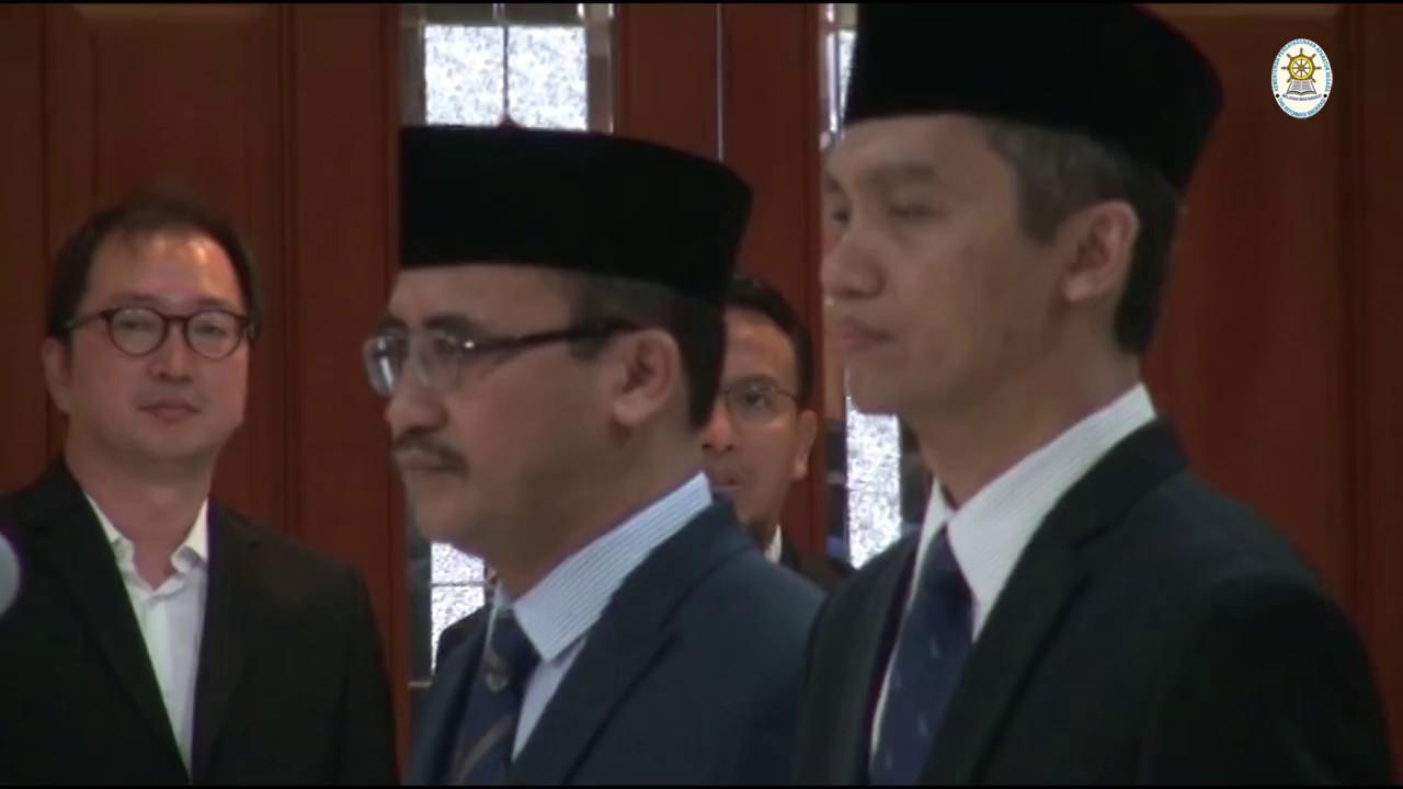 Menteri Asman Lantik Pejabat Eselon II di Kementerian PANRB