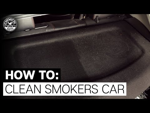 How To Get Rid Of Cigarette Odor & Refresh Your Cars Interior! Chemical Guys