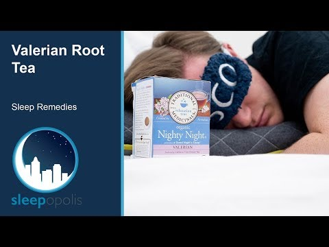 Valerian Root Tea Sleep Remedy Review - Does This Herbal Remedy Work?