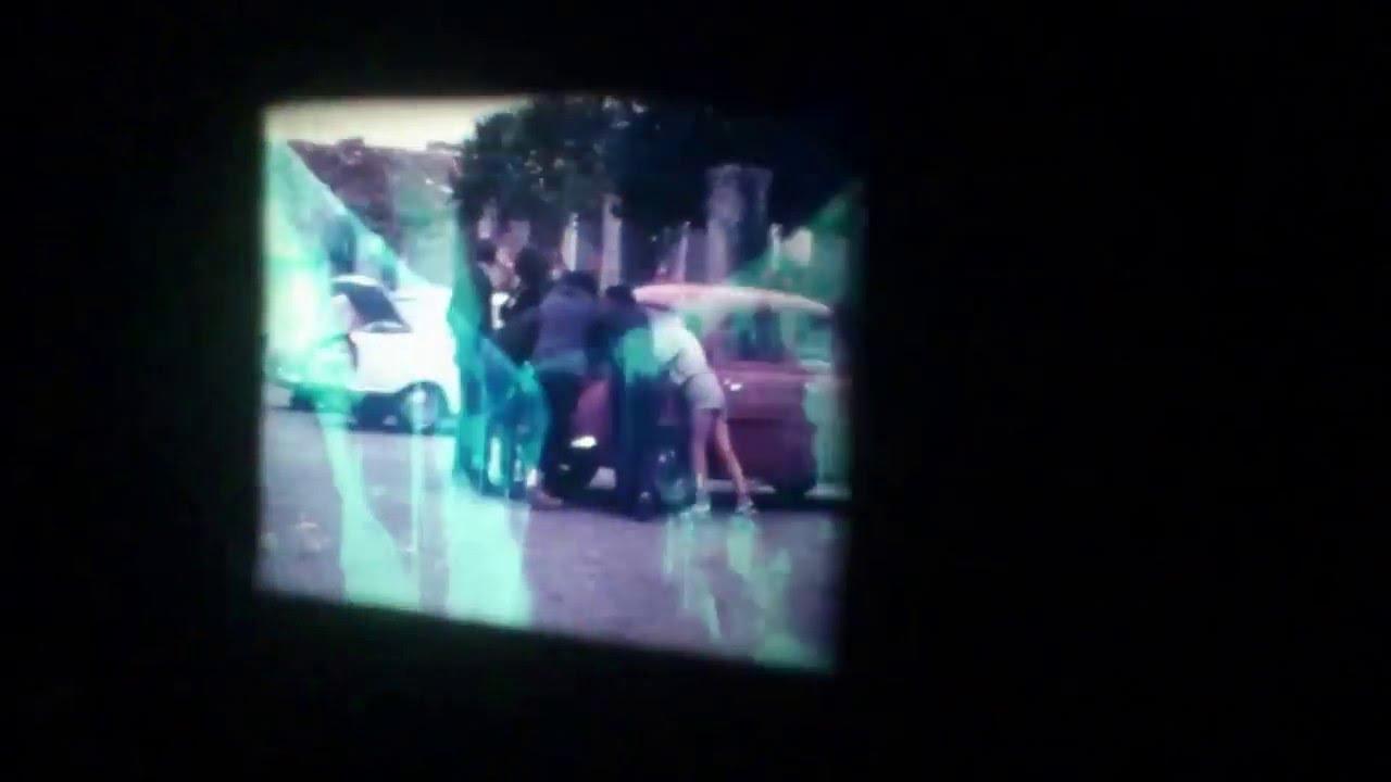 #8mm film con tratamiento de lejía.