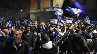 Atalanta in Europa, la grande festa in centro città