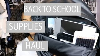 [CLOSED] MINIMAL BLACK+WHITE BACK TO SCHOOL SUPPLIES HAUL   +GIVEAWAY   ARIANA.AVA [CLOSED]
