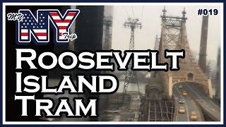 【NY#019】 ニューヨークの ケーブルカー ! ルーズベルト アイランド トラムウェイ Roosevelt Island Tramway