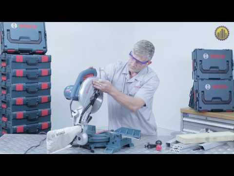 Видео обзор: Пила торцовочная BOSCH GCM 10 MX