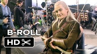 The Hobbit: The Battle of the Five Armies B-ROLL 2 (2014) - Orlando Bloom, Lee Pace Movie HD