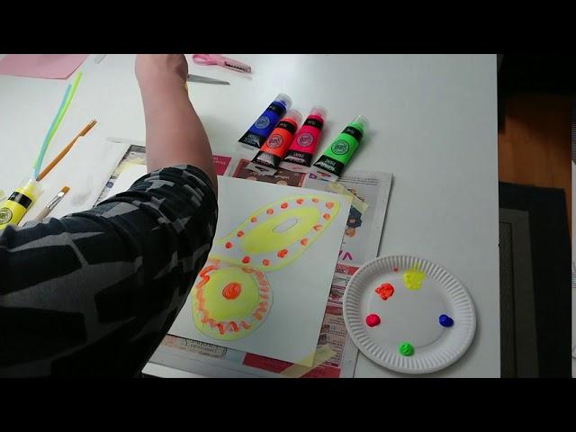 UV  taidetyöpaja, perhoset