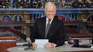 Late night hosts pay tribute to Letterman