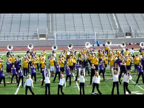 LSU Tiger Band Plays