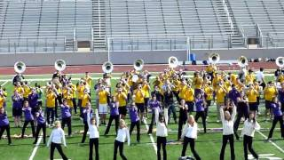 "LSU Tiger Band Plays ""Neck"" in Flower Mound, Texas [HD]"