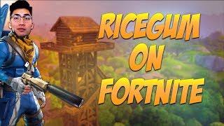 LEGENDARY SNIPE with RiceGum - Fortnite Battle Royale