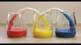 Experimentos para niños: Capilaridad