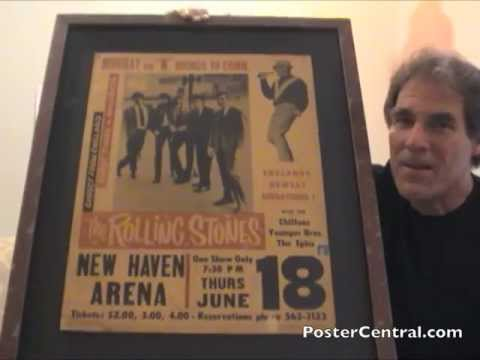 Rolling Stones Concert Poster - June 1964, First U.S. Tour