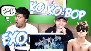 Video EXO - KO KO BOP MV REACTION (KAI IS TOO SEXY) download MP3, 3GP, MP4, WEBM, AVI, FLV Oktober 2017