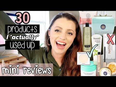 MAKEUP & SKINCARE I ACTUALLY USED UP ... The Worst & The Best