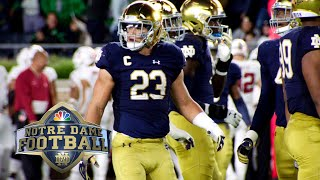 Notre Dame linebacker Drue Tranquill on loving the grind of college football I NBC Sports