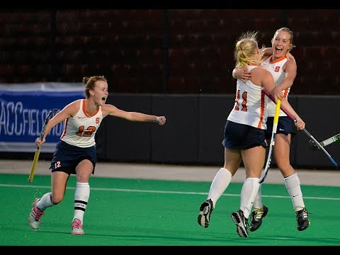 ACC Semifinal Highlights vs. UNC - Syracuse Field Hockey