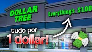 TUDO POR 1 DOLLAR! O que tem no Dollar Tree?