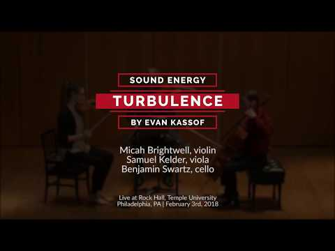 "Evan Kassof: ""Turbulence"" (2016) performed by Sound Energy"
