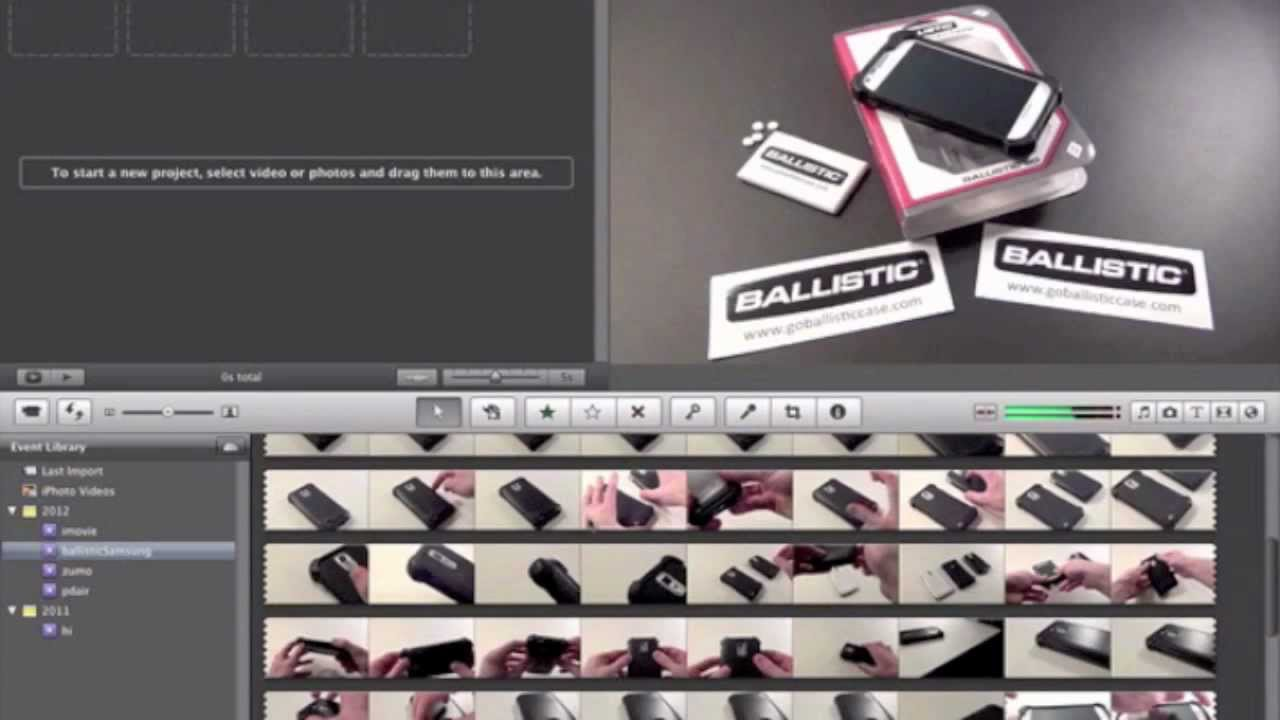 Create picture-in-picture in iMovie on iOS