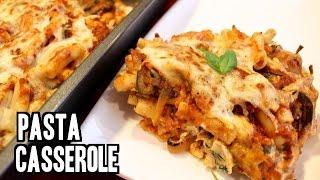 Easy Italian Baked Pasta Casserole