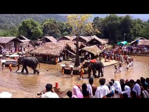KOTTIYOOR TEMPLE, KANNUR, KERALA, A UNIQUE TEMPLE IN THE WORD WHICH WILL OPEN ONLY OR 28 DAYS A YEAR