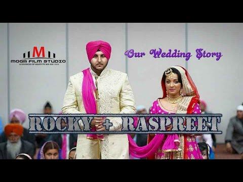 Raspreet + Rocky Indian sikh punjabi Cinematic 4k wedding photographer videographer toronto 2015