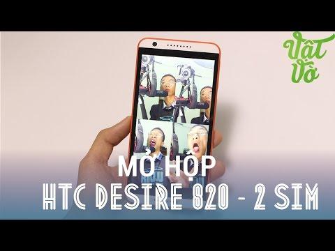 [Review dạo] Mở hộp & đánh giá nhanh HTC Desire 820 - Vi xử lí 64 bit, Camera trước 8MPx