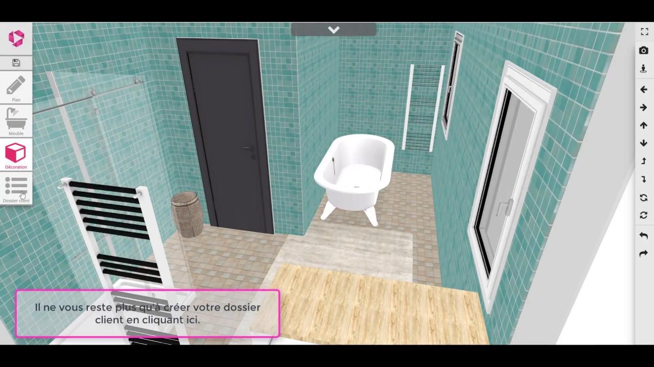 Logiciel 20D - Tutoriel Salle de bain (Koreliz Design)