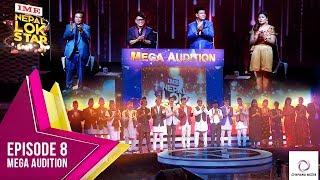 NEPAL LOK STAR II SEASON 1 II MEGA AUDITIONS II EPISODE 08