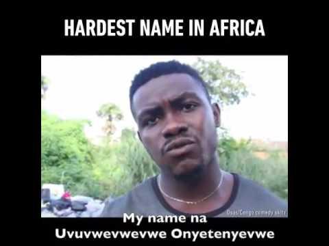 Funny video Uvuvwevwevwe onyetenyevwe Ugwem ubwem osas