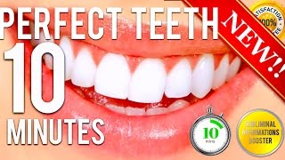 🎧 GET PERFECT TEETH IN 10 MINUTES! SUBLIMINAL AFFIRMATIONS BOOSTER! REAL RESULTS DAILY!
