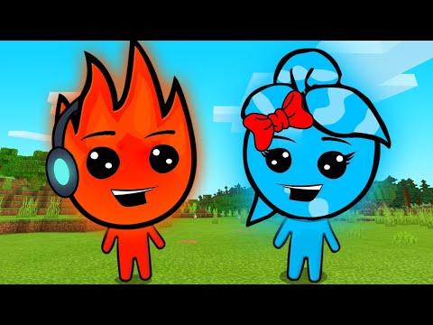 MINHA NAMORADA AMOU ESSE JOGO !! - Fireboy and Watergirl #1