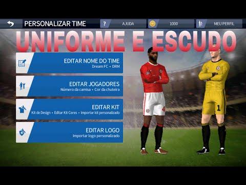como colocar kits e logos no dream league soccer 16
