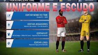 Como colocar kits e logos no dream league soccer 16 (uniformes e escudos)!!!