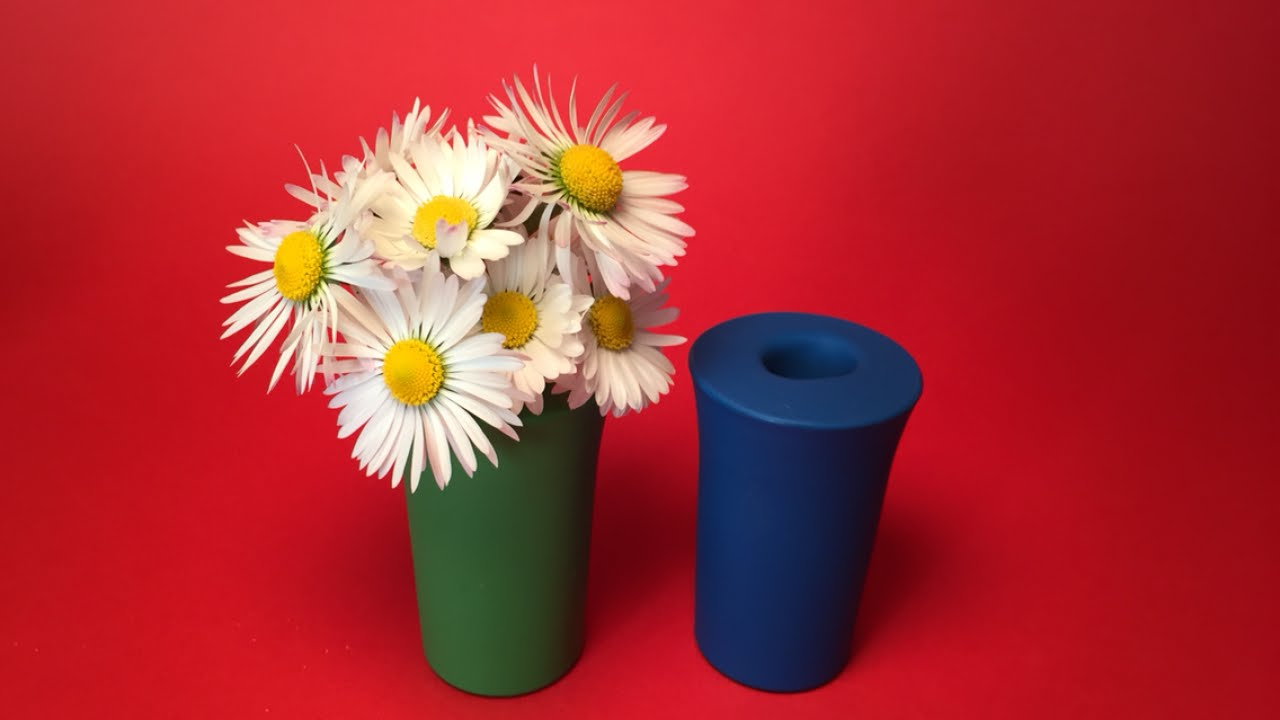 Quickly Make Colorful Flower Vases - DIY Home - Guidecentral - YouTube