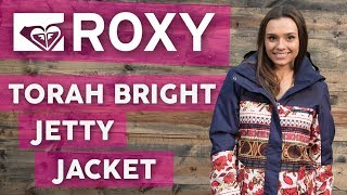2018 roxy torah bright jetty snowboard jacket - review thehouse.com